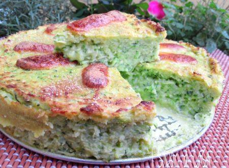 Quiche alle zucchine e scamorza affumicata