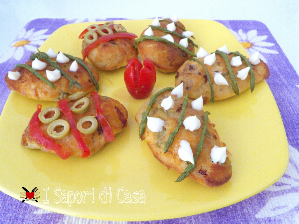 Uova di Pasqua salate - ricetta finger food