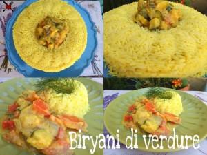 Byriani di verdure - ricetta indiana