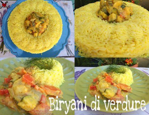 Byriani di verdure – ricetta indiana