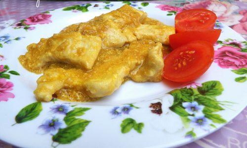 Bocconcini di pollo in salsa Tamari