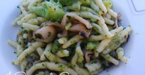 Trofie con seppie e cime di broccoli