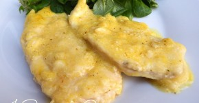 Scaloppine al limone e curry