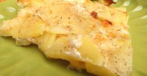 Sformato di patate e latte