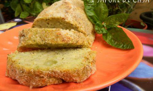 Polpettone vegetariano patate e broccoli
