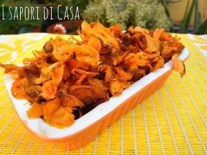 Chips di carote al cumino
