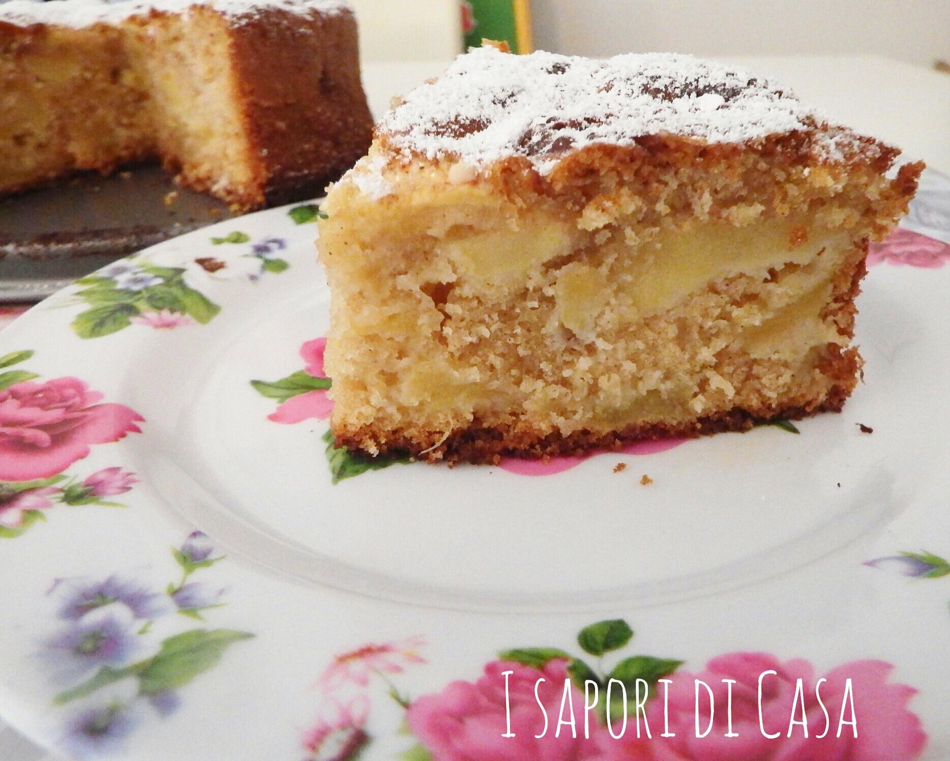 Cake alle mele caramellate e cannella