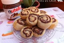 Girelle pan brioches alla nutella