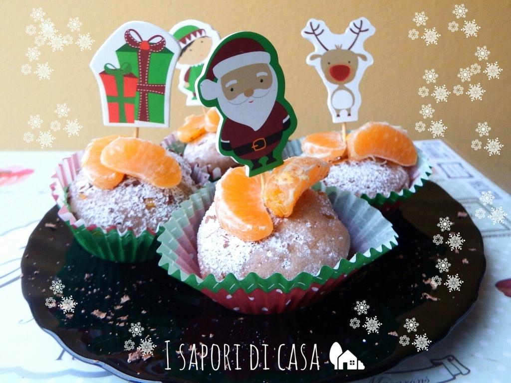 Tortine cacao e mandarini – ricetta di Natale