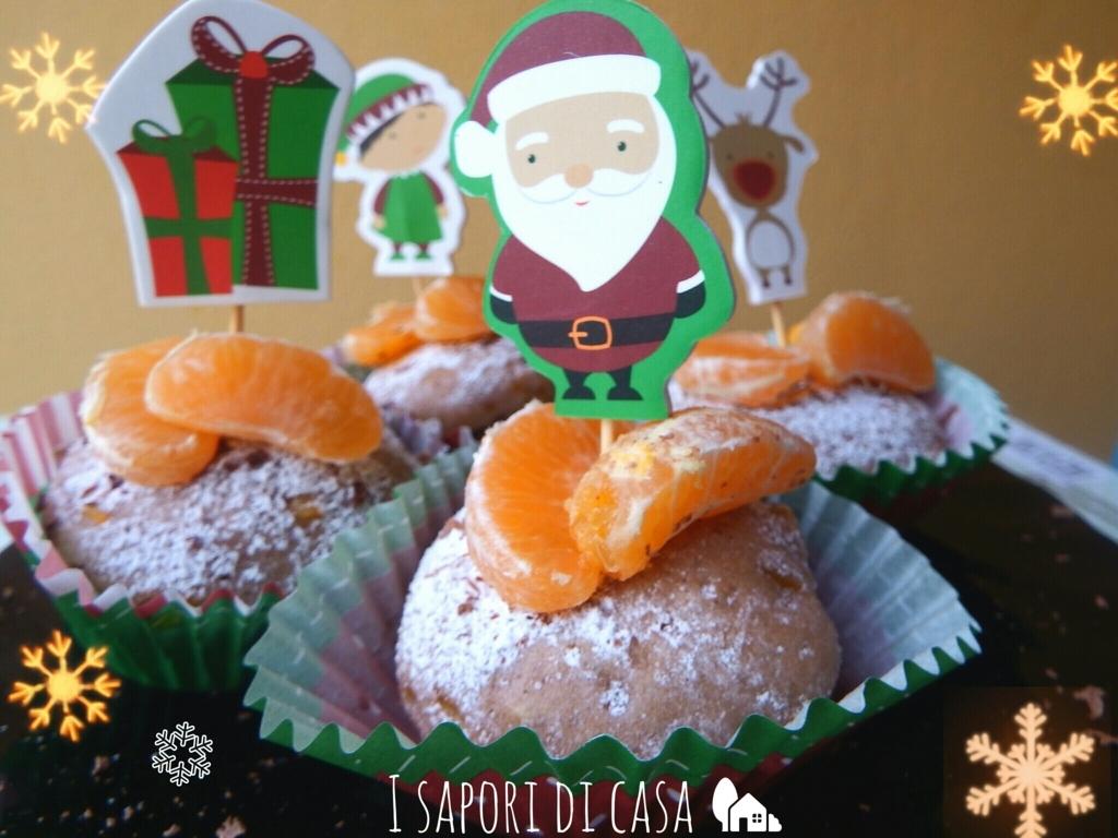 Tortine cacao e mandarini - ricetta di Natale