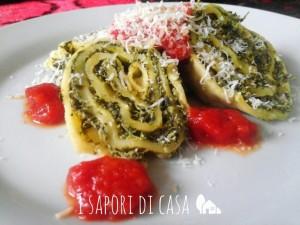 Rotolo spinaci e ricotta