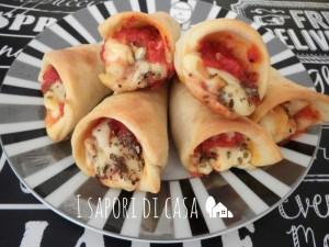 Coni pizza fatti in casa - ricetta antipasto