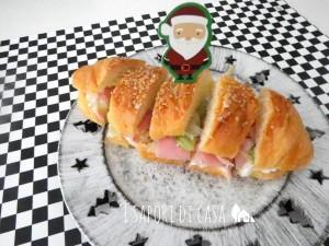 Brioches salate farcite - ricetta antipasto di Natale
