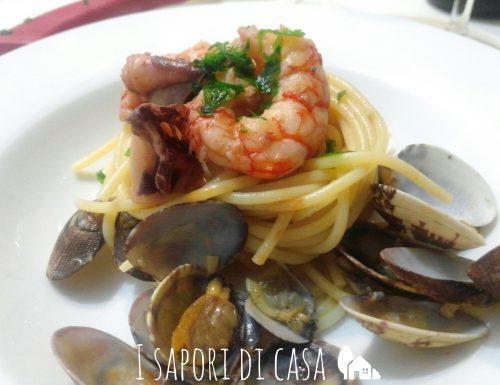Spaghetti con il pesce – ricetta cenone