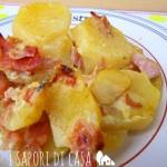 Patate fondenti al prosciutto – Fondant potatoes