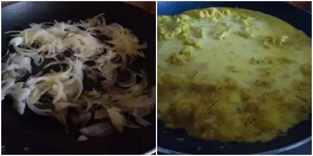 Pollo al curry in salsa di cocco (Ca ri ga nuoc cot dua)