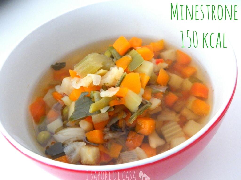 Minestrone di verdure 150 kcal
