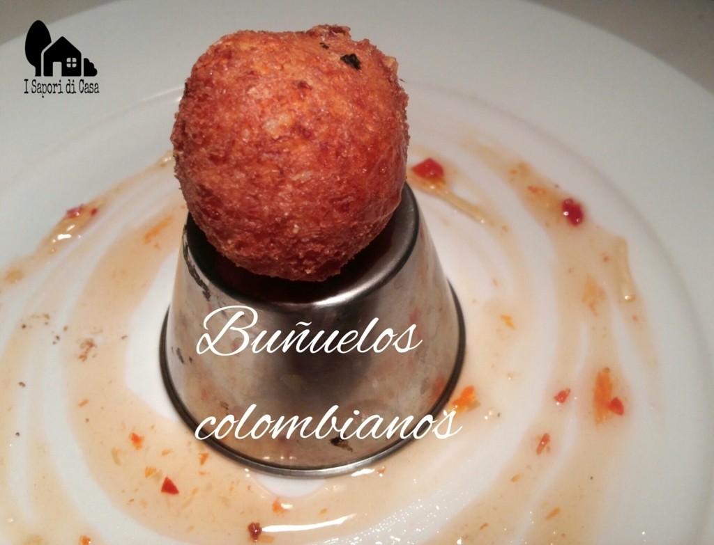 Buñuelos colombianos - palline di formaggio colombiane