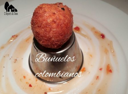 Buñuelos colombianos – palline di formaggio colombiane