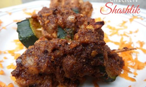 Chicken Shashlik – Pollo Shashlik – ricetta indiana