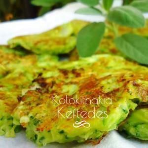 Kolokithakia keftedes - frittelle di zucchine - meze greco
