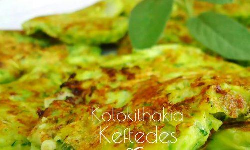 Kolokithakia keftedes – frittelle di zucchine – meze greco