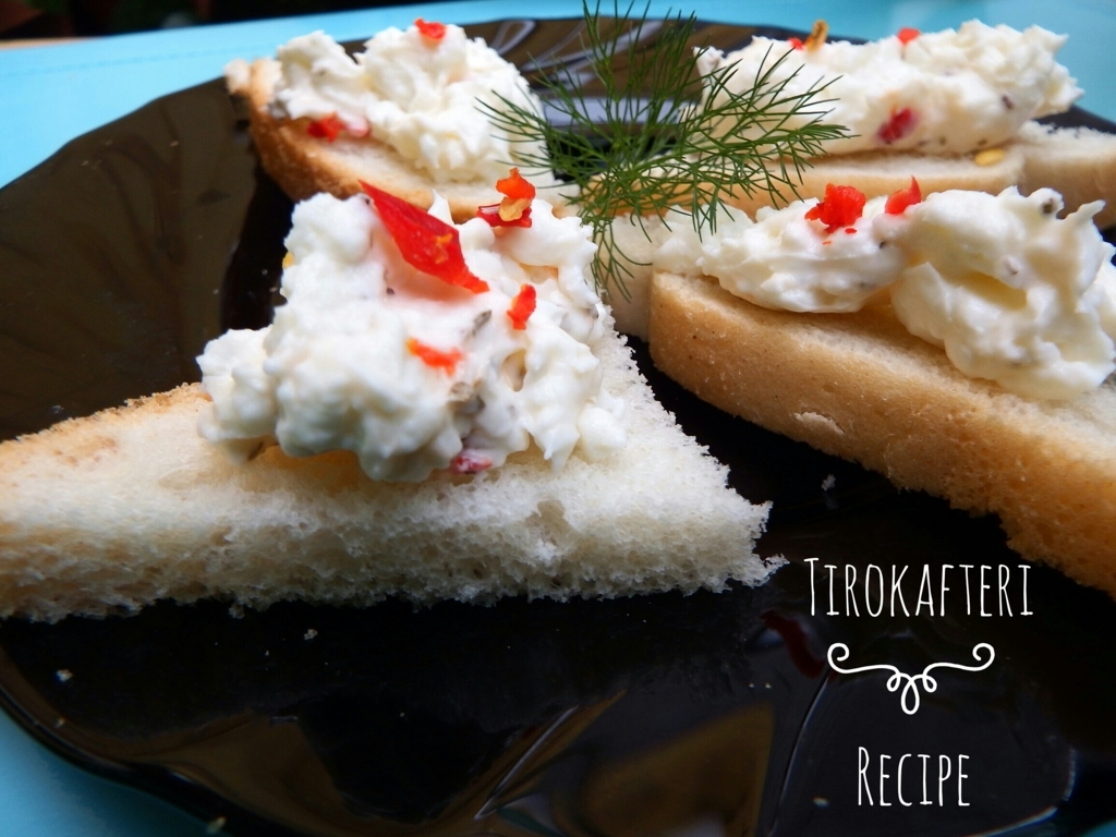 Tirokafteri - ricetta meze greco