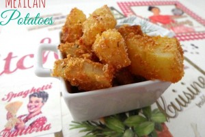 Patate messicane – Mexican potatoes – ricetta Tex Mex