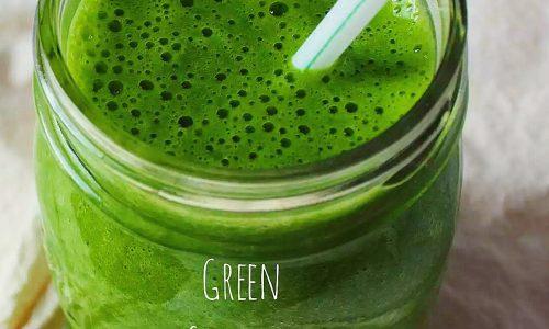 Green detox smoothie – ricetta vegana
