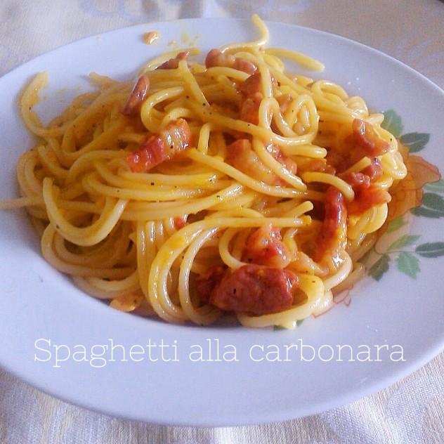 Spaghetti alla carbonara - ricetta originale