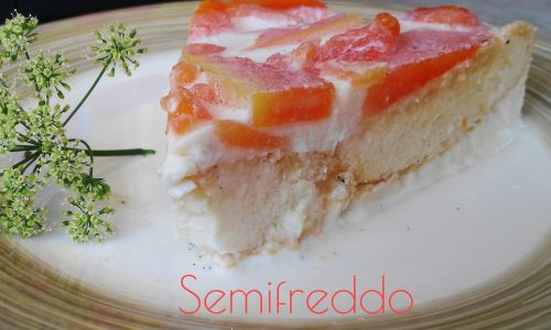 Semifreddo mascarpone e papaya