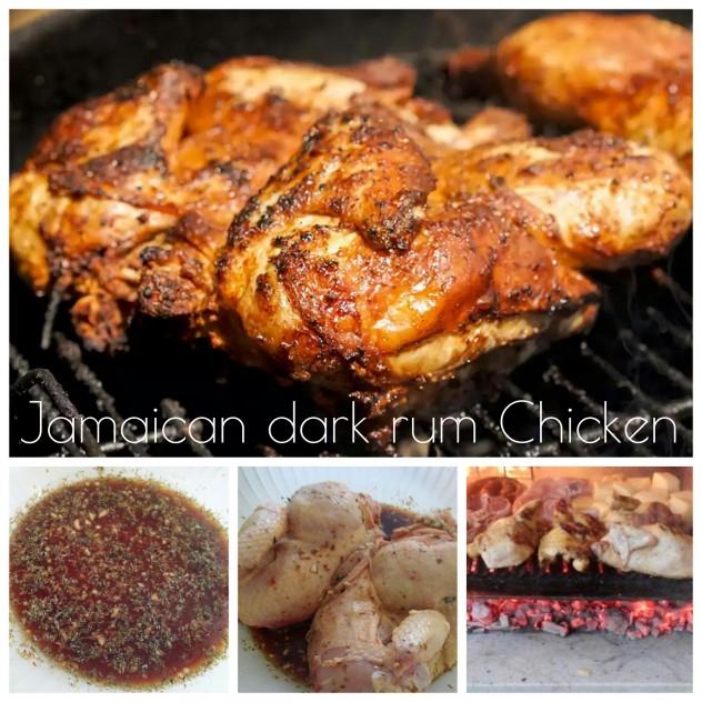 Pollo alla griglia al rum giamaicano - ricetta caraibica