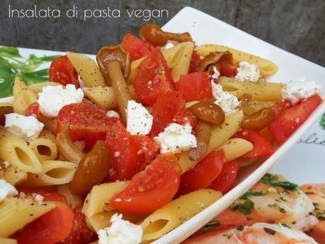 Insalata di pasta vegan