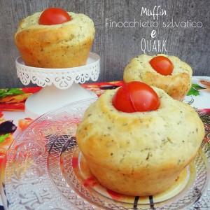 Muffin alle erbe aromatiche con cuore morbido al quark