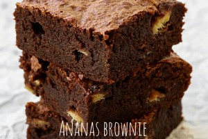 Brownies all'ananas