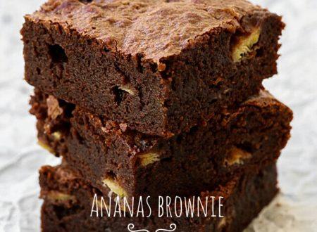 Brownies all'ananas