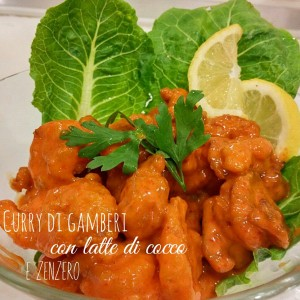 Curry di gamberi - ricetta Singapore