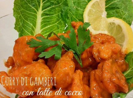 Curry di gamberi – ricetta Singapore