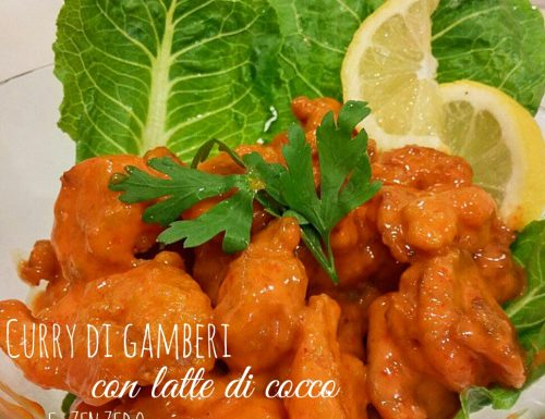 Curry di gamberi – ricetta Singapore