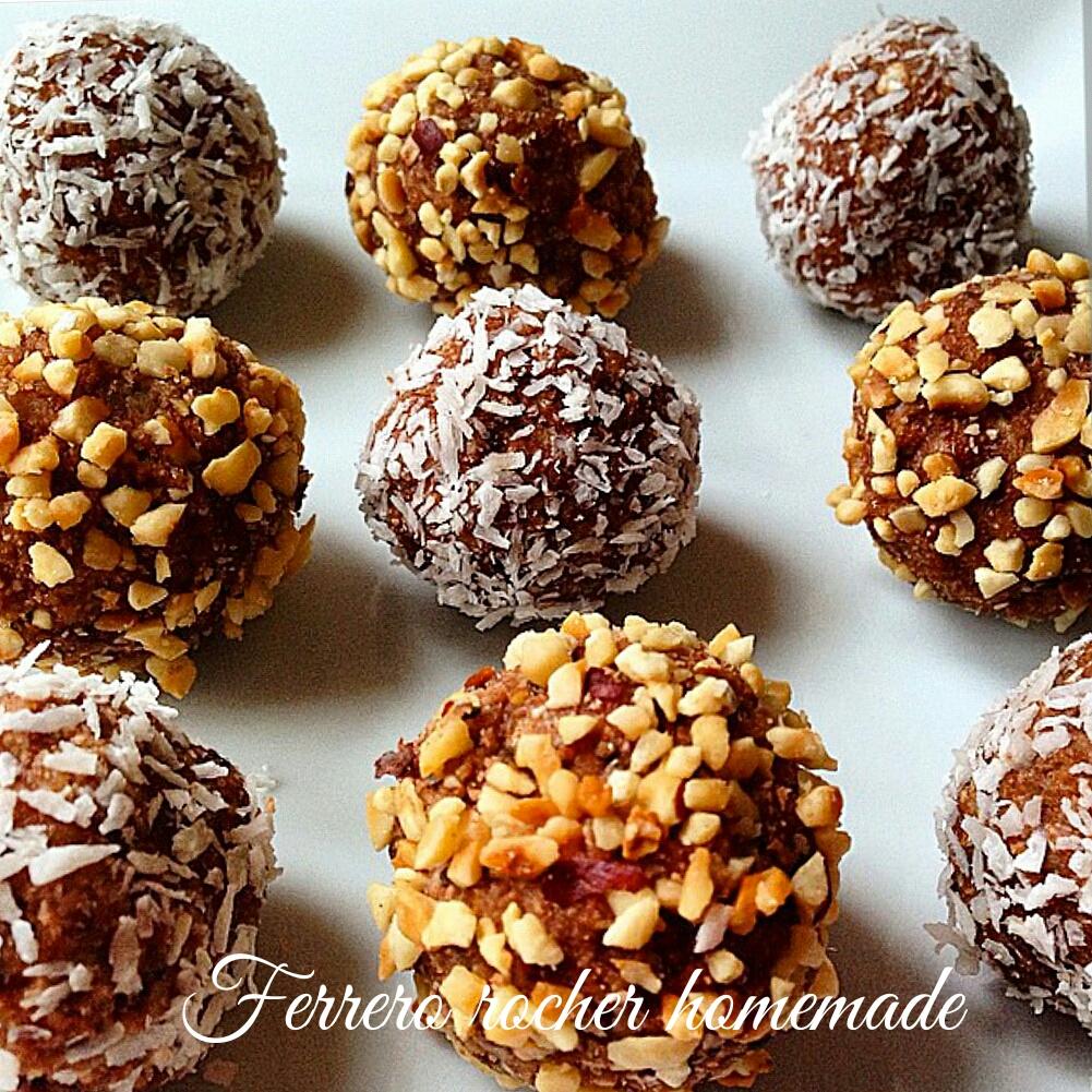 Ferrero rocher fatti in casa - Faretti in casa ...