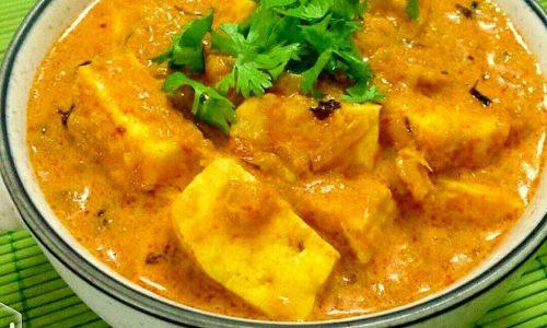 Paneer butter masala – ricetta indiana
