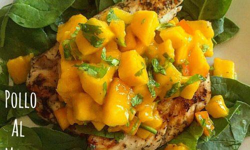 Pollo grigliato al mango – ricetta caraibica