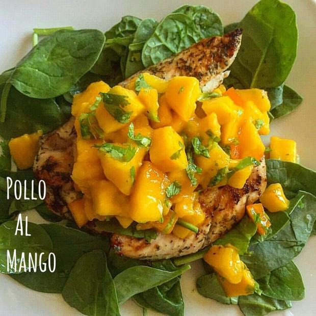 Pollo grigliato al mango - ricetta caraibica