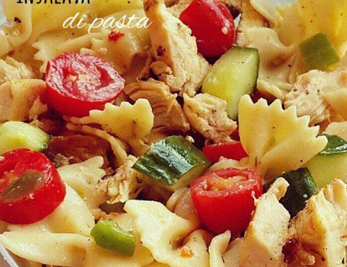 Insalata di pasta con tonno pomodorini e zucchine