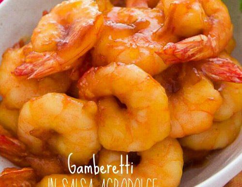 Gamberetti in salsa agrodolce – ricetta cinese