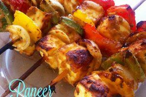 Paneer shashlik – ricetta indiana