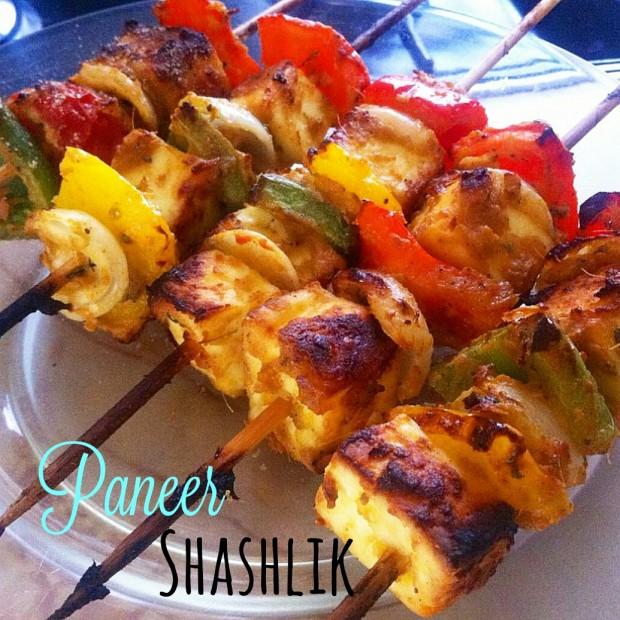 Paneer shashlik - ricetta indiana