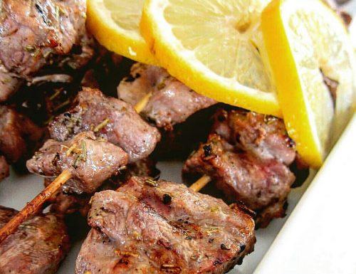 Souvlaki di pollo – ricetta Grecia