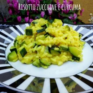 Risotto alle zucchine e curcuma