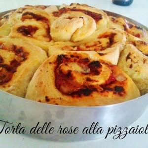 Torta delle rose alla pizzaiola